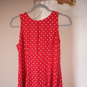 My MM Michelle Red Polka Dot Dress
